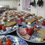 2016 wurden im Café Jerusalem über 22.000 Mahlzeiten an Gäste ausgegeben