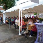 Sommerfest 2016: Beisammensein im Festzelt