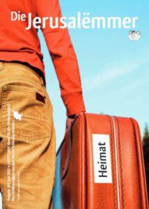Titelseite Jerusalemmer 205, Juni 2021, Thema: Heimat